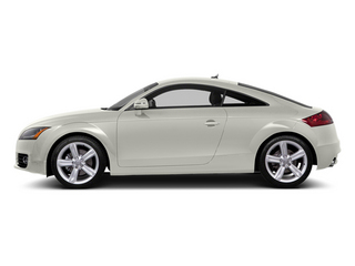 Ibis White 2014 Audi TT Pictures TT Coupe 2D AWD photos side view