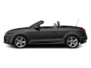 Daytona Gray Pearl Effect/Black Roof 2014 Audi TT Pictures TT Roadster 2D AWD photos side view