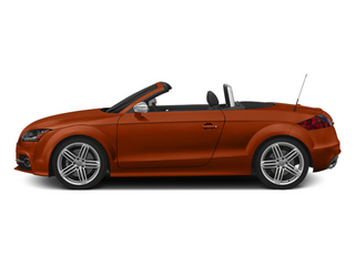 Volcano Red Metallic/Black Roof 2014 Audi TTS Pictures TTS Roadster 2D AWD photos side view