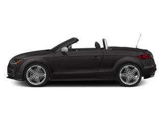Oolong Gray Metallic/Black Roof 2014 Audi TTS Pictures TTS Roadster 2D AWD photos side view