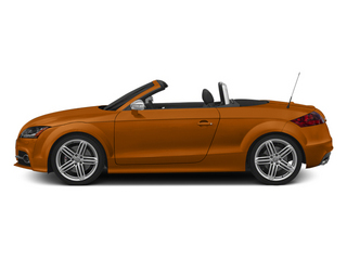 Samoa Orange Metallic/Black Roof 2014 Audi TTS Pictures TTS Roadster 2D AWD photos side view