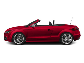 Misano Red Pearl Effect/Black Roof 2014 Audi TTS Pictures TTS Roadster 2D AWD photos side view