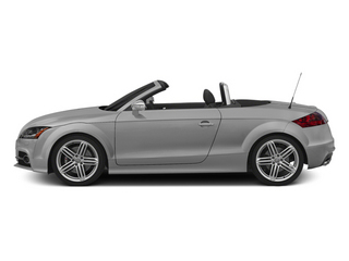 Ice Silver Metallic/Black Roof 2014 Audi TTS Pictures TTS Roadster 2D AWD photos side view