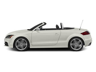 Ibis White/Black Roof 2014 Audi TTS Pictures TTS Roadster 2D AWD photos side view