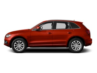 Volcano Red Metallic 2014 Audi Q5 Pictures Q5 Util 4D TDI Premium Plus S-Line AWD photos side view