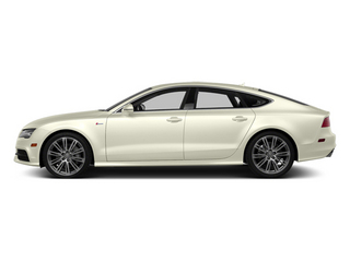 Glacier White Metallic 2014 Audi A7 Pictures A7 Sedan 4D 3.0T Prestige AWD photos side view