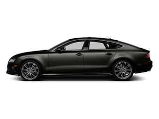 Havanna Black Metallic 2014 Audi A7 Pictures A7 Sedan 4D 3.0T Prestige AWD photos side view