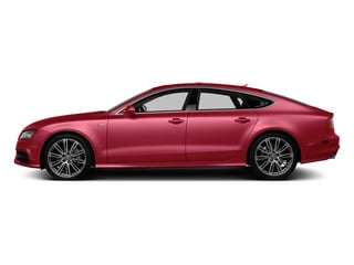 Garnet Red Pearl Effect 2014 Audi A7 Pictures A7 Sedan 4D 3.0T Prestige AWD photos side view