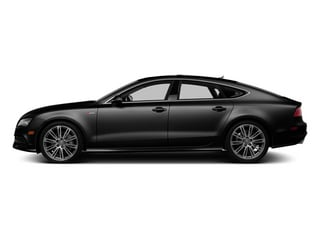 Phantom Black Pearl Effect 2014 Audi A7 Pictures A7 Sedan 4D 3.0T Prestige AWD photos side view