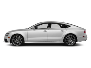Ice Silver Metallic 2014 Audi A7 Pictures A7 Sedan 4D 3.0T Prestige AWD photos side view