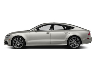 Quartz Gray Metallic 2014 Audi A7 Pictures A7 Sedan 4D 3.0T Prestige AWD photos side view