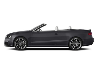 Nardo Gray/Black Roof 2014 Audi RS 5 Pictures RS 5 Convertible 2D RS5 AWD V8 photos side view