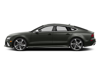 Daytona Gray Pearl Effect 2014 Audi RS 7 Pictures RS 7 Sedan 4D Prestige AWD photos side view