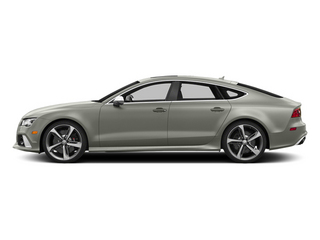 Prism Silver Crystal Effect 2014 Audi RS 7 Pictures RS 7 Sedan 4D Prestige AWD photos side view