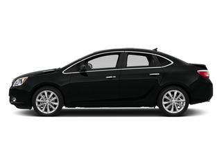 Carbon Black Metallic 2014 Buick Verano Pictures Verano Sedan 4D Leather I4 photos side view