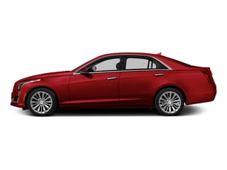 Red Obsession Tintcoat 2014 Cadillac CTS Sedan Pictures CTS Sedan 4D Performance V6 photos side view