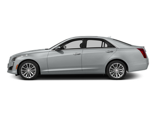Radiant Silver Metallic 2014 Cadillac CTS Sedan Pictures CTS Sedan 4D Performance V6 photos side view