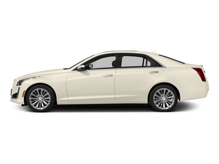 White Diamond Tricoat 2014 Cadillac CTS Sedan Pictures CTS Sedan 4D Performance V6 photos side view
