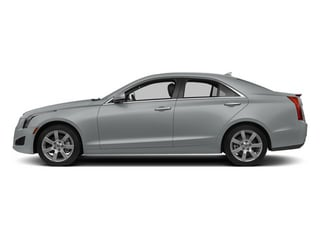 Radiant Silver Metallic 2014 Cadillac ATS Pictures ATS Sedan 4D Luxury I4 Turbo photos side view
