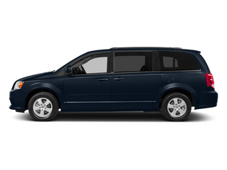 True Blue Pearlcoat 2014 Dodge Grand Caravan Pictures Grand Caravan Grand Caravan SXT V6 photos side view