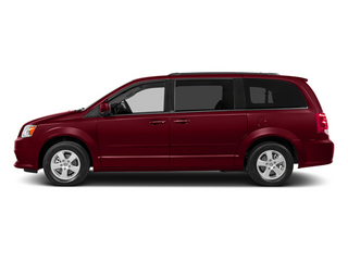 Deep Cherry Red Crystal Pearlcoat 2014 Dodge Grand Caravan Pictures Grand Caravan Grand Caravan SXT V6 photos side view