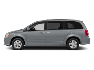 Billet Silver Metallic Clearcoat 2014 Dodge Grand Caravan Pictures Grand Caravan Grand Caravan SXT V6 photos side view