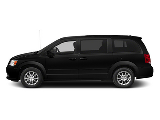 Brilliant Black Crystal Pearlcoat 2014 Dodge Grand Caravan Pictures Grand Caravan Grand Caravan R/T V6 photos side view