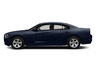 Jazz Blue Pearlcoat 2014 Dodge Charger Pictures Charger Sedan 4D SE AWD V6 photos side view