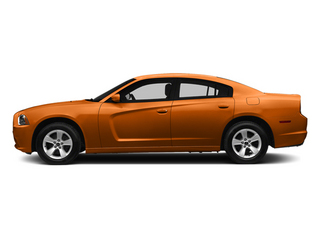Header Orange Clearcoat 2014 Dodge Charger Pictures Charger Sedan 4D SXT V6 photos side view