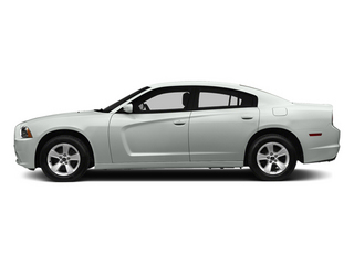 Bright White Clearcoat 2014 Dodge Charger Pictures Charger Sedan 4D SXT V6 photos side view