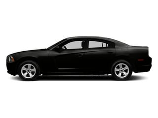 Pitch Black 2014 Dodge Charger Pictures Charger Sedan 4D SXT V6 photos side view