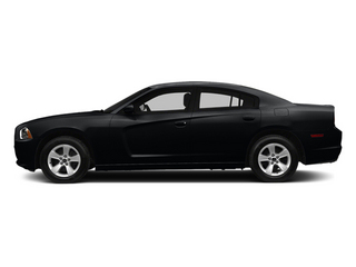 Phantom Black Tri-Coat Pearl 2014 Dodge Charger Pictures Charger Sedan 4D SE AWD V6 photos side view