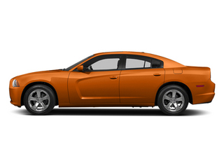 Header Orange Clearcoat 2014 Dodge Charger Pictures Charger Sedan 4D R/T V8 photos side view