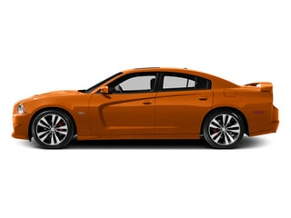 Header Orange Clearcoat 2014 Dodge Charger Pictures Charger Sedan 4D SRT-8 V8 photos side view
