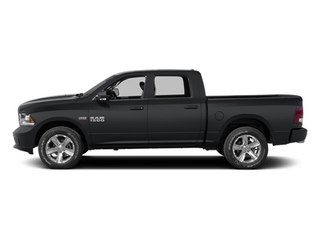 Granite Crystal Metallic Clearcoat 2014 Ram Truck 1500 Pictures 1500 Crew Cab Limited 2WD photos side view