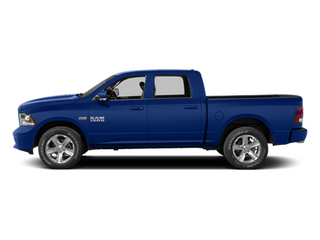 Blue Streak Pearlcoat 2014 Ram Truck 1500 Pictures 1500 Crew Cab Outdoorsman 4WD photos side view