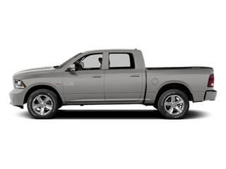 Bright Silver Metallic Clearcoat 2014 Ram Truck 1500 Pictures 1500 Crew Cab Limited 2WD photos side view