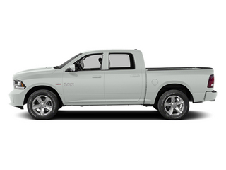Bright White Clearcoat 2014 Ram Truck 1500 Pictures 1500 Crew Cab Limited 2WD photos side view