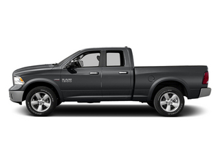 Granite Crystal Metallic Clearcoat 2014 Ram Truck 1500 Pictures 1500 Quad Cab Outdoorsman 4WD photos side view