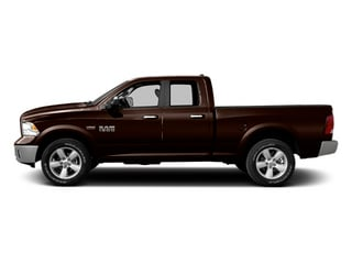 Western Brown 2014 Ram Truck 1500 Pictures 1500 Quad Cab Outdoorsman 4WD photos side view