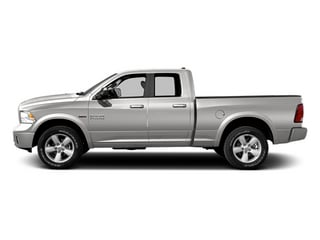 Bright Silver Metallic Clearcoat 2014 Ram Truck 1500 Pictures 1500 Quad Cab Outdoorsman 4WD photos side view