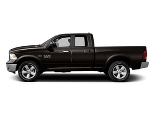 Black Clearcoat 2014 Ram Truck 1500 Pictures 1500 Quad Cab Outdoorsman 4WD photos side view