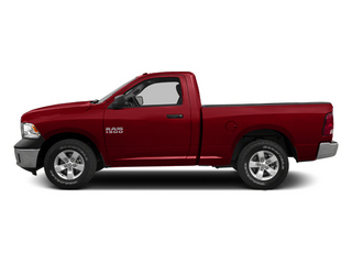 Bright Red 2014 Ram Truck 1500 Pictures 1500 Regular Cab Tradesman 4WD photos side view