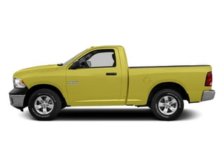 Bright Green 2014 Ram Truck 1500 Pictures 1500 Regular Cab Tradesman 4WD photos side view