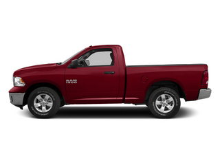 Deep Cherry Red Crystal Pearlcoat 2014 Ram Truck 1500 Pictures 1500 Regular Cab Tradesman 4WD photos side view
