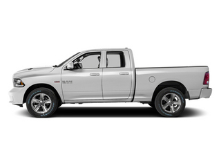Bright White Clearcoat 2014 Ram 1500 Pictures 1500 Quad Cab Sport 4WD photos side view