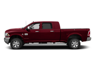 Deep Cherry Red Crystal Pearlcoat 2014 Ram 2500 Pictures 2500 Mega Cab SLT 4WD photos side view