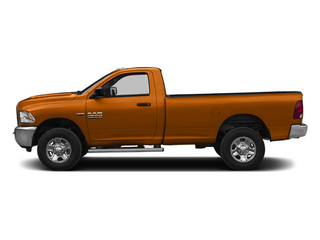 Omaha Orange 2014 Ram Truck 2500 Pictures 2500 Regular Cab Tradesman 4WD photos side view