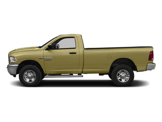Light Cream 2014 Ram Truck 2500 Pictures 2500 Regular Cab Tradesman 4WD photos side view
