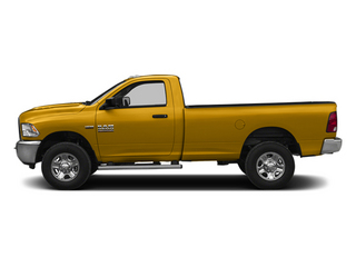 School Bus Yellow 2014 Ram Truck 2500 Pictures 2500 Regular Cab Tradesman 4WD photos side view